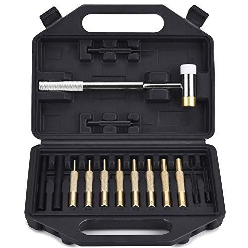 BUSSTAN Gunsmithing Tools Gunsmith Hammer and Brass Punch Gun Smithing Tool Set Kit