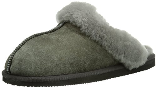 Shepherd Damen Jessica Slipper Pantoffeln, Grau (Antique Grey 21), 39 EU
