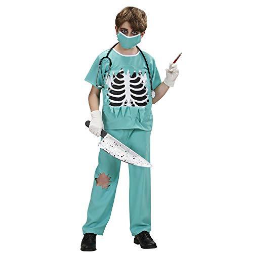 Widmann wdm76657 ? Costume pour Enfants Scary Surgeon (140 cm/8 ? 10 Ans), Multicolore, XS