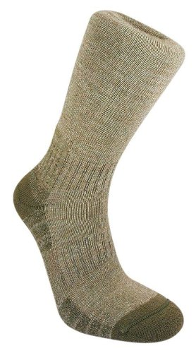 Bridgedale Men's WoolFusion Trail Socks, Olive, X-Large