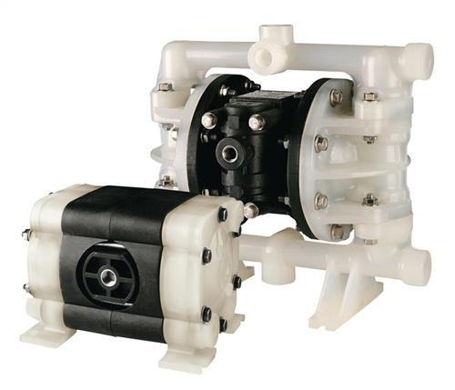 Lutz-Pumpen GmbH Pumpe Druckluft-Doppelmembran 1/2 Gehäuse Nylon Membrane Teflon 65 l/min