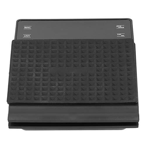 Boumcat Báscula de cocina electrónica portátil con temporizador 4 pantalla LED, resistente y duradera, no fácil de dañar, adecuado para el hogar, cocina, restaurante, etc.