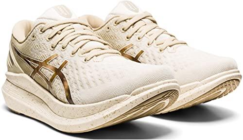 ASICS Glide Ride 2 - Zapatillas de deporte para mujer, color beige/marrón, talla US 7,5 | EU 39 2021