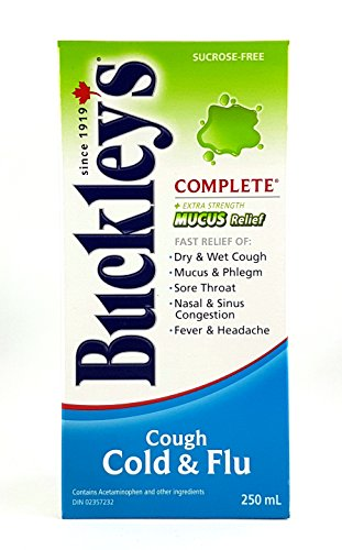 Buckley's Complete 'Mucus Relief' Syrup Extra Strength for Relief of Cough - 250 ml