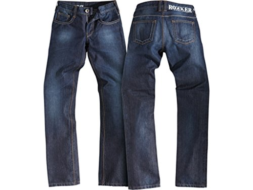 Motorradjeans Rokker Revolution Lady Jeans Denim blau WASSERDICHT, 29-34