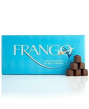 Frango Chocolates 45-Pc Milk Sea Salt Caramel Box of Chocolates