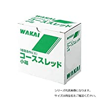 若井産業 ユニクロ コーススレッド ラッパ 小箱 半ネジ 38 1000本 10箱