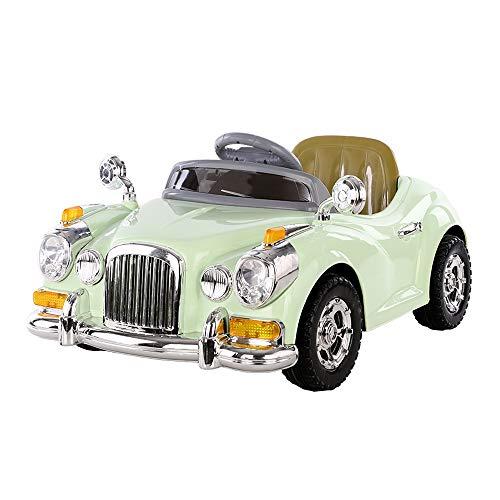 Voiture d'enfants rc,SYXX Car, for enfants voiture électrique, voiture télécommandée à quatre roues avec télécommande Baby Swing Kids Toy Car, Baby 4 Wheeler Can Sit, Petite voiture de sport rose Prin