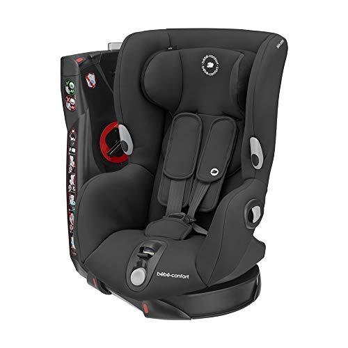 Bébé Confort Axiss Seggiolino Auto 9-18 Kg, Girevole e Reclinabile in 8 Comode Posizioni, Gruppo 1 per Bambini dai 9 Mesi ai 4 Anni, Authentic Black