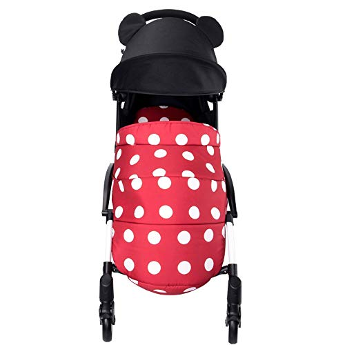 Baby Stroller Micky Foot Cover Foot Muffs Winter Warm Yoyo Stroller Accesorios