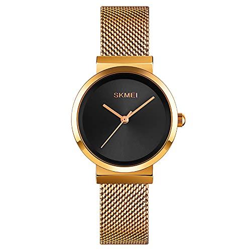 KLFJFD Reloj De Cuarzo Impermeable Simple De Moda para Mujer Reloj De Moda De Regalo Informal Creativo para Estudiantes