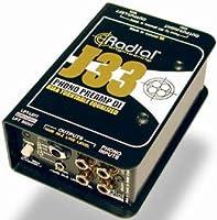 RADIAL J33 ターンテーブル用 フォノ・プリアンプ ラディアル DI 『並行輸入品』