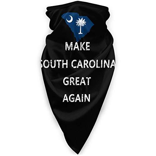 Lzz-Shop maakt South Carolina weer geweldig winddichte sportschaalwarmers bandana bivakmuts hoofddeksel