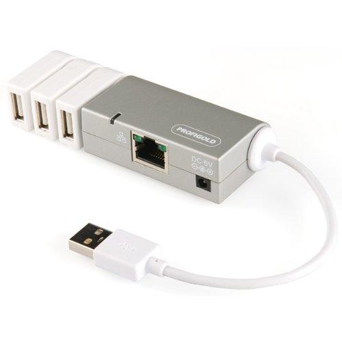 Profigold PROM741 Adaptador y Tarjeta de Red USB 100 Mbit/s