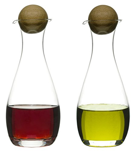 Sagaform Bottles Nature Collection Oil/Vinegar Carafe