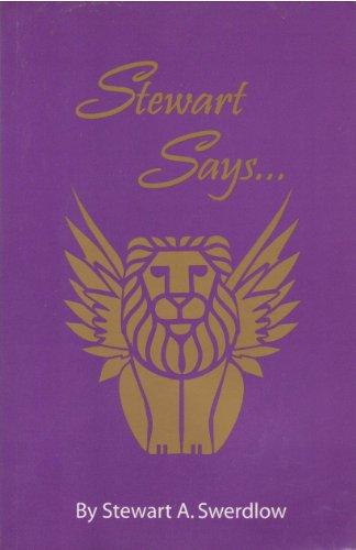 Stewart Says... (English Edition)