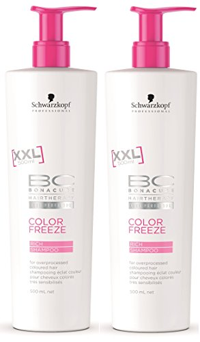 Schwarzkopf 2-pack Schwarzkopf BC Color Freeze Rich Shampoo XXL 500 ml