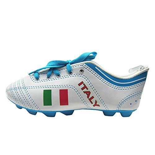 Estojo Football Boot Italy Colorido em PU - Urban - 22,5x8 cm