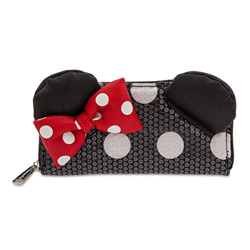 Disney Minnie Mouse Sequined Wallet by Loungefly