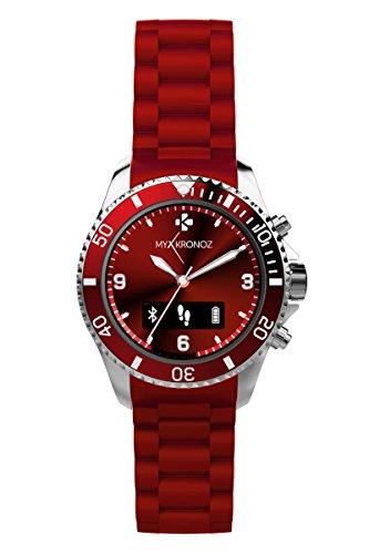 MyKronoz Smartwatch, Red, KRZECLOCK