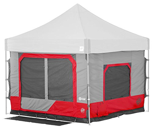 E-Z UP Camping Cube 6.4 Outdoor Accessory, 10 by 10', Punch
