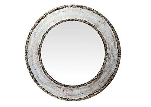 BadalArt DM spiegel, beschilderd, goudkleurig, 60 diameter