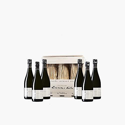 Jacques Selosse Collection Lieux-Dits 6 Botellas Dégorge 01/2019-75 cl