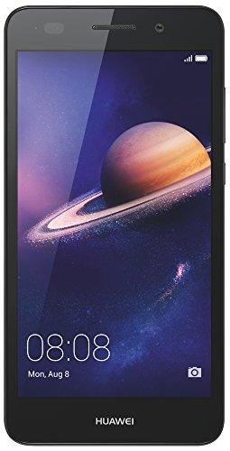 """Huawei Y6 II-Smartphone de 5.5"""" (RAM de 2 GB, memoria interna de 16 GB, cámara de 13 MP, Android), color negro"""