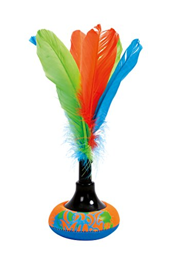 Schildkröt Neopren Peteca, Handfederball mit weicher Neopren Schlagfläche, Indiaca - das Trend-Spiel aus Südamerika, Brazilian Shuttle im trendigem Design, im Blister, 970225