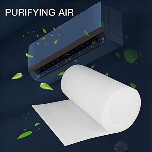 Aire Acondicionado carbón Activado purificador de Agua prefiltro de Polvo, Filtro de Aire Acondicionado (100 cm 100 cm 3 mm), Reducir el Polvo y la alergia