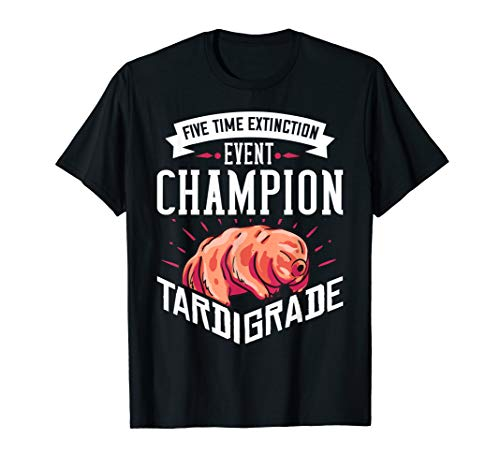 Tardigrade Water Bear Gift Microscope Space T-Shirt