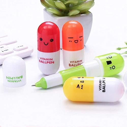 1pcs New Kawaii Pikachu Pen Out of Pencil Case Large Capacity School Write Supplies Pencil Bag Pencil Pouch Stationery,104-random 1pcs
