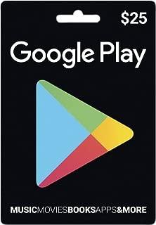 Google play Prepaid Card $25