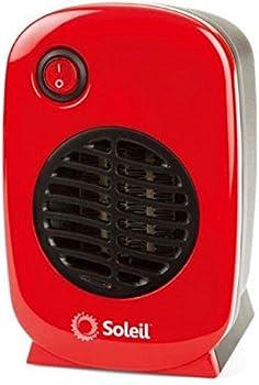 Soleil Personal 250 Watt Electric Ceramic Heater