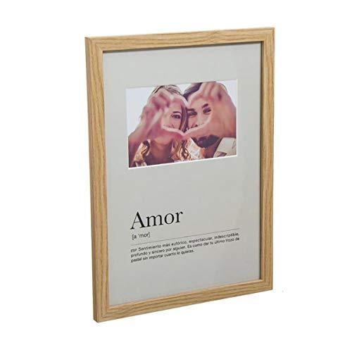 Vidal Regalos Marco de Fotos Colgante Pared Portafotos Regalo San Valentin Pareja 32 cm