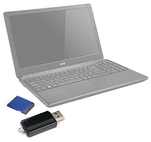 DURAGADGET Lector De Tarjetas ¡2 En 1! para Portátil Acer Aspire E1-510...