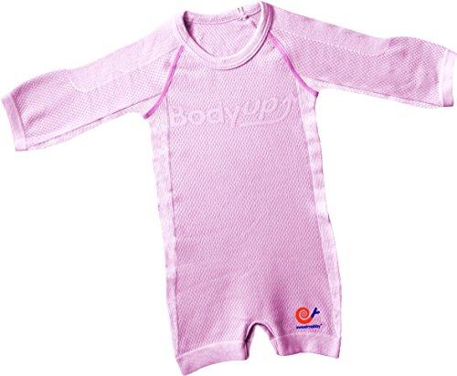 Mebby Épais Body pour Bébé à Longues Manches - Rose - 0 à 3 ans