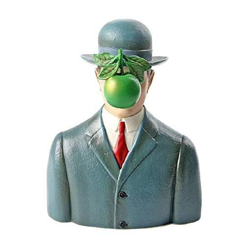 Skulptur - Der Sohn des Mannes - Museumsshop (Replikat) Magritte