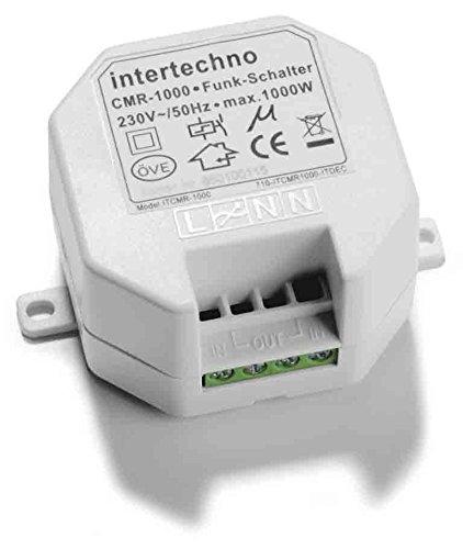 Intertechno Funk Einbauschalter CMR-1000