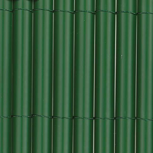 Tenax Rio Canniccio Sintetico A Mezze Canne Da 19 Mm, Schermante Frangivista, Verde 1,80 X 5 M, 1,80X5 M