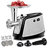 F2C Electric 3 IN 1 Meat Grinder Mincer Food Chopper Pasta Maker 1000W Max with 3 Grinding Plates, 3...