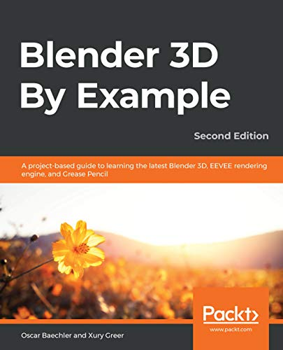 Packt Publishing Blender 3D By Example Bild