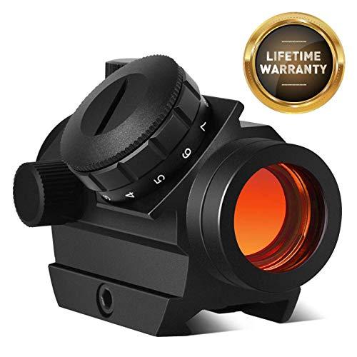 Buy Cycvis Red Dot Sight Riflescope Micro Rifle Gun Sights, 1x25mm 4 MOA,11 Brightness, Elevation & ...