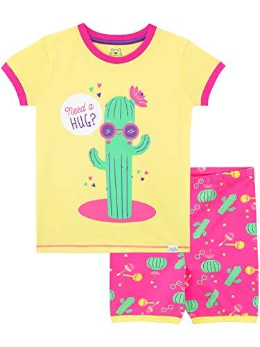 Harry Bear Pijama Corta para niñas Cactus Amarillo 3-4 Añ