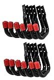 Tetra-Teknica UHK03-DP Heavy Duty Garage Storage Utility Hooks, Color Black, 12 per Pack