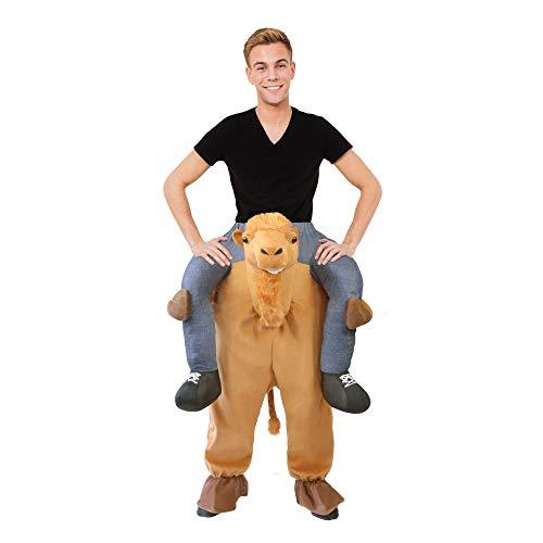 Bristol Novelty - Disfraz montado sobre Camello (Tamao nico) (Marrn)