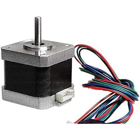 Robodo PR17 4.2 kg-cm NEMA 17 Stepper Motor 4 Wire Bipolar for CNC or 3D Printer or Robotics
