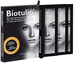 BIOTULIN Bio Cellulose Face Rejuvenation Masks - Corrects Wrinkles, Pigments (4-pack)