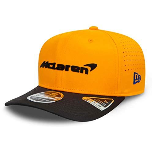 Fuel for Formula 1 McLaren F1 Team Unisex Carlos Sainz 2020 Team 9FIFTY Cap, Orange, M/L, Unisex-Erwachsene, McLaren F1 - Carlos Sainz 2020 Team 9FIFTY Cap, Orange, Small-Medium