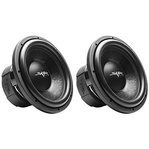 "(2) Skar Audio DDX-12 D2 12"" 1500W Max Power Dual 2 Car Subwoofer"